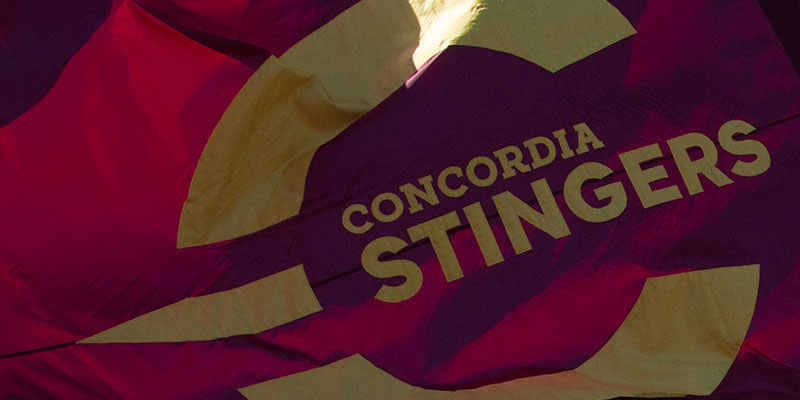 Watch the Concordia Stingers Live and On Demand!